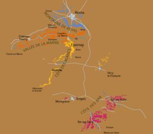 4 grandes regiones